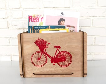 Teacher Gift - Decorative Storage Box for School Supplies, Art Supplies, Books, Magazines, Picnic Supplies and So Much More!