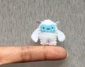 Reserved For Silvia D'mb - Yeti Plush Toy, Miniature Felt Yoda,  Abominable Snowman Miniature Plush, Tiny Felt Yeti, Star Wars Plushie