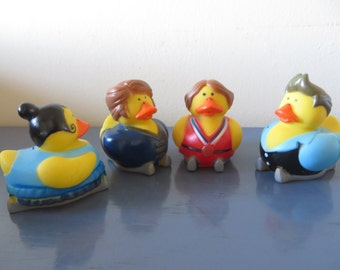 Skiing rubber ducks.- perfect for your little ski enthusiast
