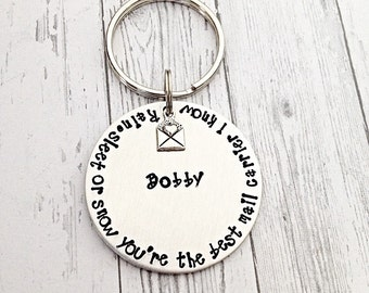 Gifts for mailman, postal worker gift, Best mailman, Personalized gift, Hand stamped mailman gift, Mail lady gift, mail carrier, post office