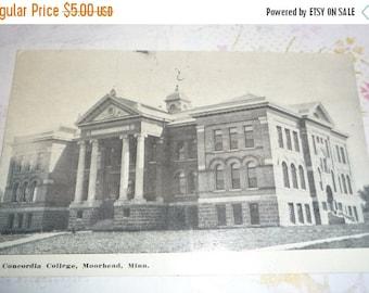 on sale Concordia College, Moorehead, Minnesota  Antique View Postcard