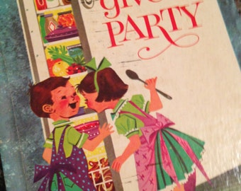 Let's Give a Party Wonder Book