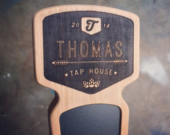Engraved Custom Tap Handle - Chinook