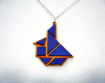 Chain, tangram, sailboat (386)