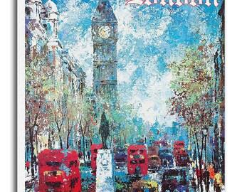 Art London England Travel Poster Wall Decor Print Gift  xr553