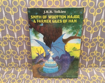 Smith Of Wootton Major / Farmer Giles of Ham by J.R.R. Tolkien Hardcover Book Pauline Baynes Art