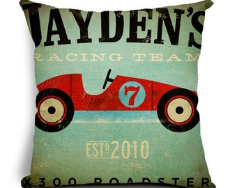 Jaydens Racing Team - Pillow Cover