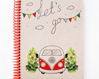Vw Campervan Series Spiral Notebook 4