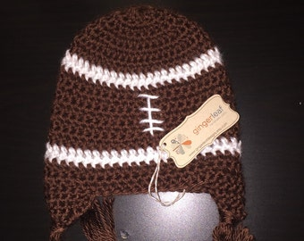 Items Similar To Football Beanie Hat For Babies Boys Or