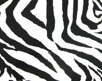 Black and White Valance. Zebra Curtain. Animal Print. Window treatment. Curtain. Valance. Cotton. Designers pattern. Cm. Choose  your sizes
