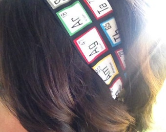 Periodic Table of Elements Headband for Adult and Teens