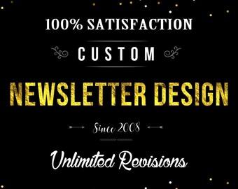 Custom Newsletter Design, Newsletter, Instant Newsletter, Newsletter Templates Design, Professional Newsletter, Rush Newsletter Design