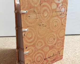 Pocket Sized One-of-a-kind Handmade Journal