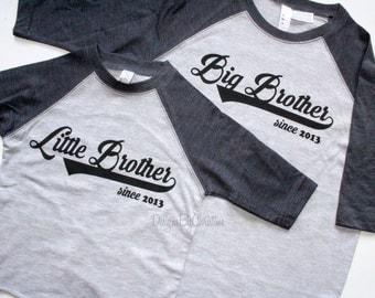 Big Brother baseball shirt. Little Brother baseball shirt. Siblings shirt. Baseball shirt. Big Brother shirt. Little Brother shirt