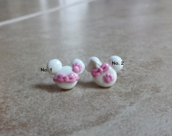 Marie Aristocats Inspired Mouse Earrings