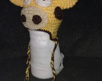Tuque giraffe