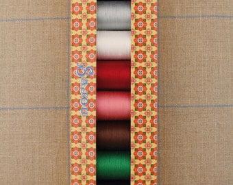 Cotton thread 8 bobbins in a gift box Fil Au Chinois