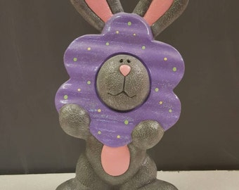 Easter bunny | Spring bunny | Painted bunny