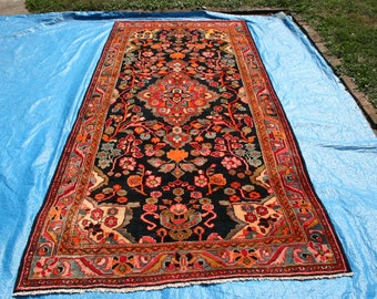 "10' 1"" x 54"" Hand Knotted Meshkabad Persian Gallery Rug    B50"