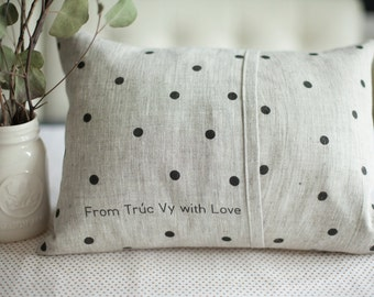 Add-on Order: Customize the Back of your Love Pillow