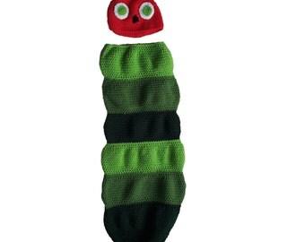 Caterpillar Baby Sleep Sack/Cocoon