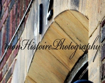25% off Brick Building, Abstract Photography