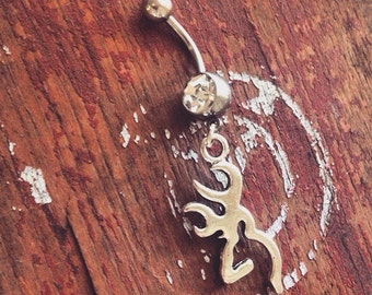 Browning Belly Button Ring