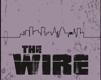 The Wire Minimalist Poster