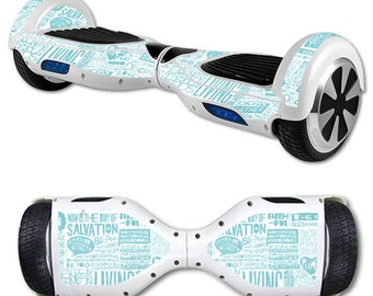 Skin Decal Wrap for Self Balancing Scooter Hoverboard unicycle Faith