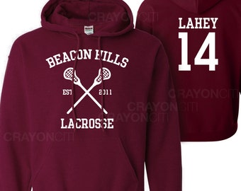 Teen Wolf Beacon Hills Lacrosse Hoodie Lahey 14 Hoodie