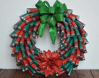 Shotgun Shell Wreath - Christmas