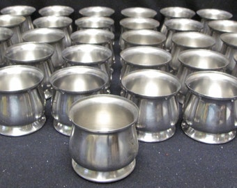 Set of 31 Oneida 18/8 Stainless Sweetener Containers
