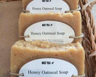 Honey Oatmeal - Soap, Handmade Soap, Homemade Soap