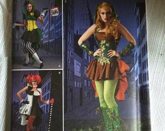 Bad girl costume pattern