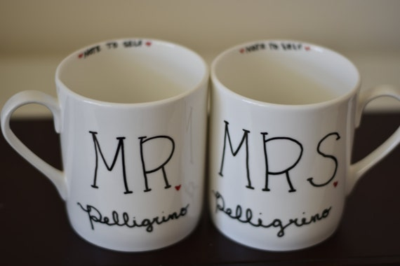 and Groom Coffee Mugs, Wedding Gift, Bride and Groom Gift, Wedding ...
