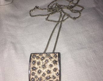 Unusual sterling silver pendant