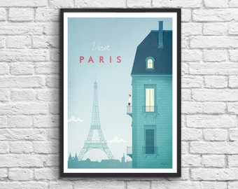 Art-Poster 50 x 70 cm - Paris Travel Poster