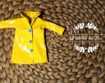 Raincoat for blythe or other similar doll