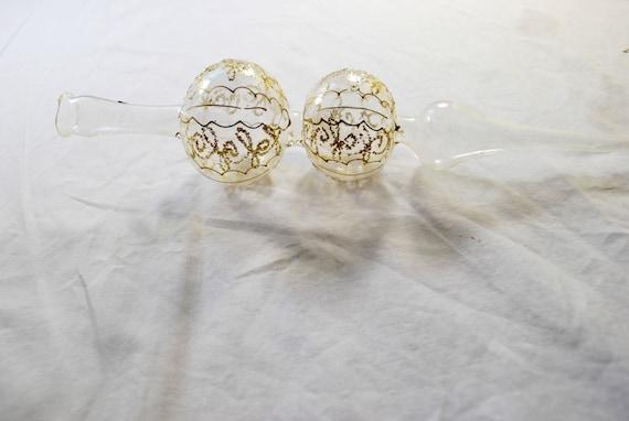 Boule en verre souffl sommet de l 39 arbre d coration - Boule de noel en verre souffle ...