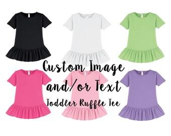 Custom Toddler Raglan Shirt Custom T Shirt Customized Tee