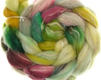 Merino rustico No.. 103 handyed combed top roving for spinning #16783