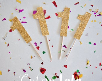 1 Cupcake Toppers, Number 1 Cupcake Toppers, Number Cupcake Toppers