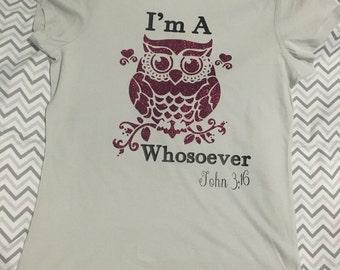 Womens Owl tshirt