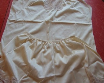 Vintage Sears Tap Pant and Cami 70's-80's