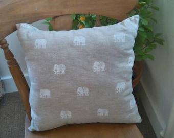 Large elephant cushion