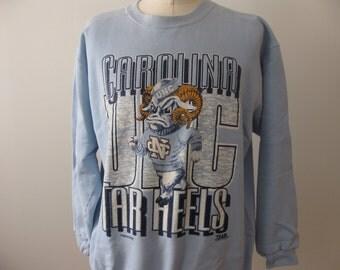UNC Tarheels Sweatshirt North Carolina Adult XL