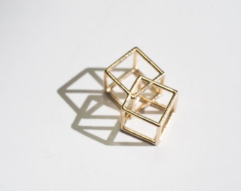 Double cube pendant | necklace | bracelet