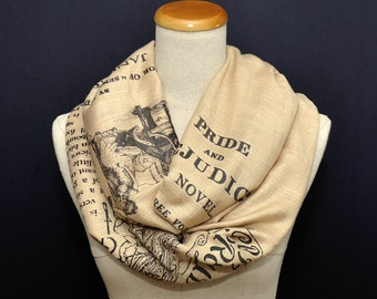 Pride and Prejudice Shawl Scarf Wrap