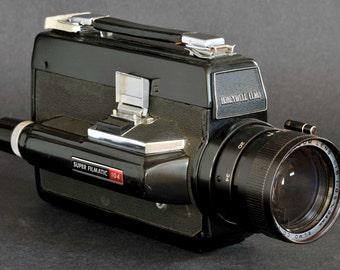 Honeywell Elmo Super Filmatic 104 Super 8 Movie Camera w 8.5-34mm f1.8 Fast Lens