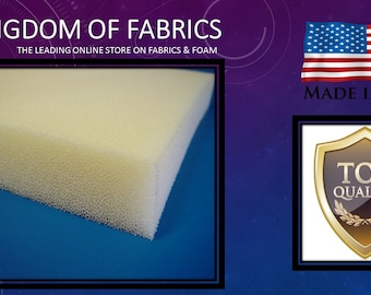 """Professional Pallet Size 5""""x 30""""x 40"""" Dry Fast Reticulated Foam Sheet"""